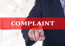 Complaint Royalty Free Stock Images
