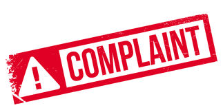 Complaint rubber stamp Royalty Free Stock Photos