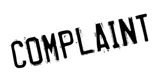 Complaint rubber stamp Royalty Free Stock Photo