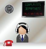 Complaints department Stock Image