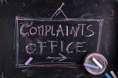 Complaints office Royalty Free Stock Photography