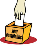 Complaints Royalty Free Stock Photography