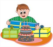 Compleanno Illustrazione di Stock