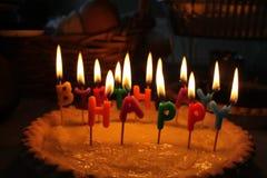 Compleanno di Acropolishappy Fotografia Stock