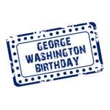 Compleanno di George Washington Immagine Stock Libera da Diritti