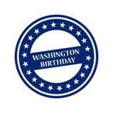 Compleanno di George Washington Fotografia Stock
