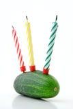 Compleanno sano felice! Fotografia Stock