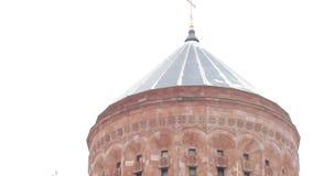 Complejo armenio de la iglesia en Moscú metrajes
