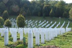 Complejo conmemorativo de Srebrenica Imagen de archivo libre de regalías