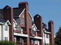 Complejo de apartamentos Foto de archivo libre de regalías