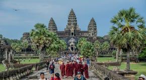Complejo de Camboya Ankor Foto de archivo
