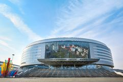 Complejo de la arena de Minsk Imagenes de archivo