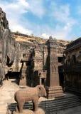 Complejo de la cueva de Ellora, la India Imagen de archivo libre de regalías