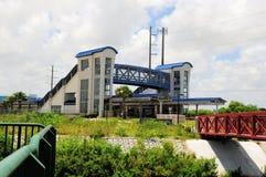 Complejo de la estación de tren en FL Fotografía de archivo libre de regalías