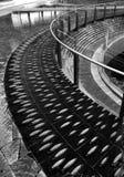 Complejo de la fuente de agua en Milan Italy Fotos de archivo