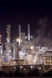 Complejo de la refinería de petróleo imagen de archivo libre de regalías