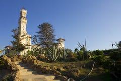 Complejo de Montaza - el al-Haramlik Palace+garden Fotos de archivo