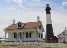 Complejo de Tybee Lighthouse fotografía de archivo libre de regalías