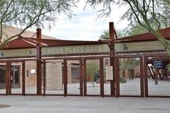 Complejo del béisbol del rancho del Camelback en Glendale Arizona fotografía de archivo