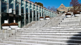 Complejo del campus de Ewha  Foto de archivo
