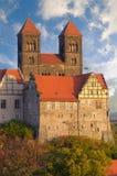 Complejo del castillo de Quedlinburg; Quedlinburg, Alemania Fotografía de archivo libre de regalías