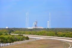 Complejo del lanzamiento en Kennedy Space Center Fotos de archivo