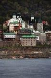 Complejo del monasterio Foto de archivo libre de regalías