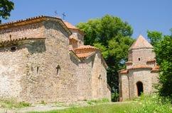 Complejo del monasterio de Dzveli Shuamta en Georgia, el Cáucaso Imágenes de archivo libres de regalías