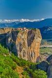 Complejo del monasterio de la montaña de Meteora Fotografía de archivo libre de regalías
