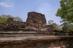 Complejo del palacio de rey Nissanka Malla Imágenes de archivo libres de regalías