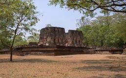 Complejo del palacio de rey Nissanka Malla Imagenes de archivo