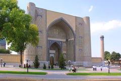 Complejo del Sah-yo-Zinda de Uzbekistán, Samarkand en Samarkand fotografía de archivo