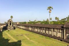 Complejo del templo antiguo de Angkor Wat, mil bibliotecas del norte de dios, uno de los monumentos religiosos más grandes del mu fotografía de archivo