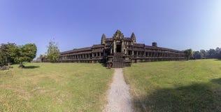 Complejo del templo antiguo de Angkor Wat, mil bibliotecas del norte de dios, uno de los monumentos religiosos más grandes del mu foto de archivo libre de regalías