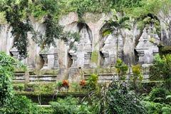 Complejo del templo de Gunung Kawi en Tampaksiring en Bali Imagen de archivo