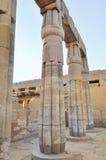 Complejo del templo de Karnak Imagen de archivo libre de regalías
