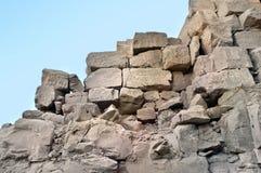 Complejo del templo de Karnak. Ruinas del palacio de los pharaohs Foto de archivo libre de regalías