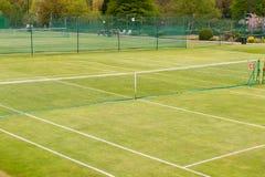 Complejo del tenis foto de archivo libre de regalías