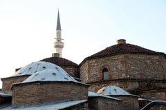 Complejo dual de la casa del baño de Gazi Mahmed Pasha Hamam en Prizren, Kosovo fotos de archivo