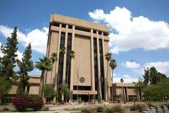 Complejo ejecutivo de la torre del capitolio del estado de Arizona Imagenes de archivo