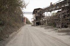 Complejo industrial de la fábrica de la explotación minera Fotografía de archivo