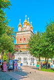 Complejo monástico de St Sergius Trinity Lavra Imágenes de archivo libres de regalías