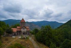 Complejo monástico de Vahanavank cerca de Kapan, provincia de Syunik de la república Armenia Foto de archivo