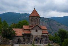 Complejo monástico de Vahanavank cerca de Kapan, provincia de Syunik de la república Armenia Fotografía de archivo