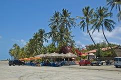 Complejo playero tropical Fotos de archivo libres de regalías