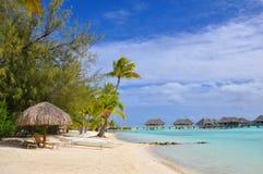Complejo playero tropical Foto de archivo