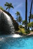 Complejo playero tropical Fotografía de archivo