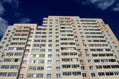 ` Complejo residencial de Kokoshkino del ` en el centro del distrito administrativo de Kokoshkino Novomoskovsk del acuerdo de Mos Imagen de archivo