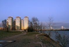 Complejo residencial en St Petersburg Foto de archivo