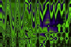 Colorful green-violet tints abstract background Stock Images